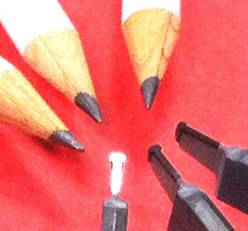 Inserti PCD profilati ed affilati con laser