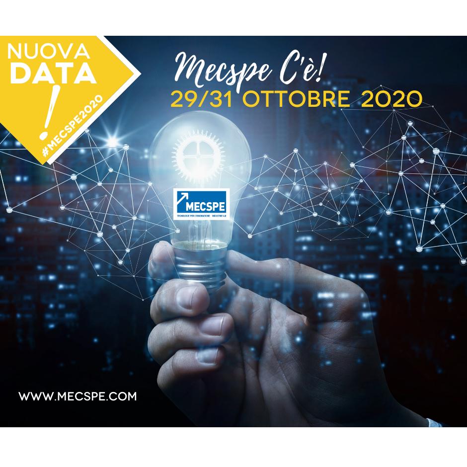 MECSPE 2020 – NUOVA DATA