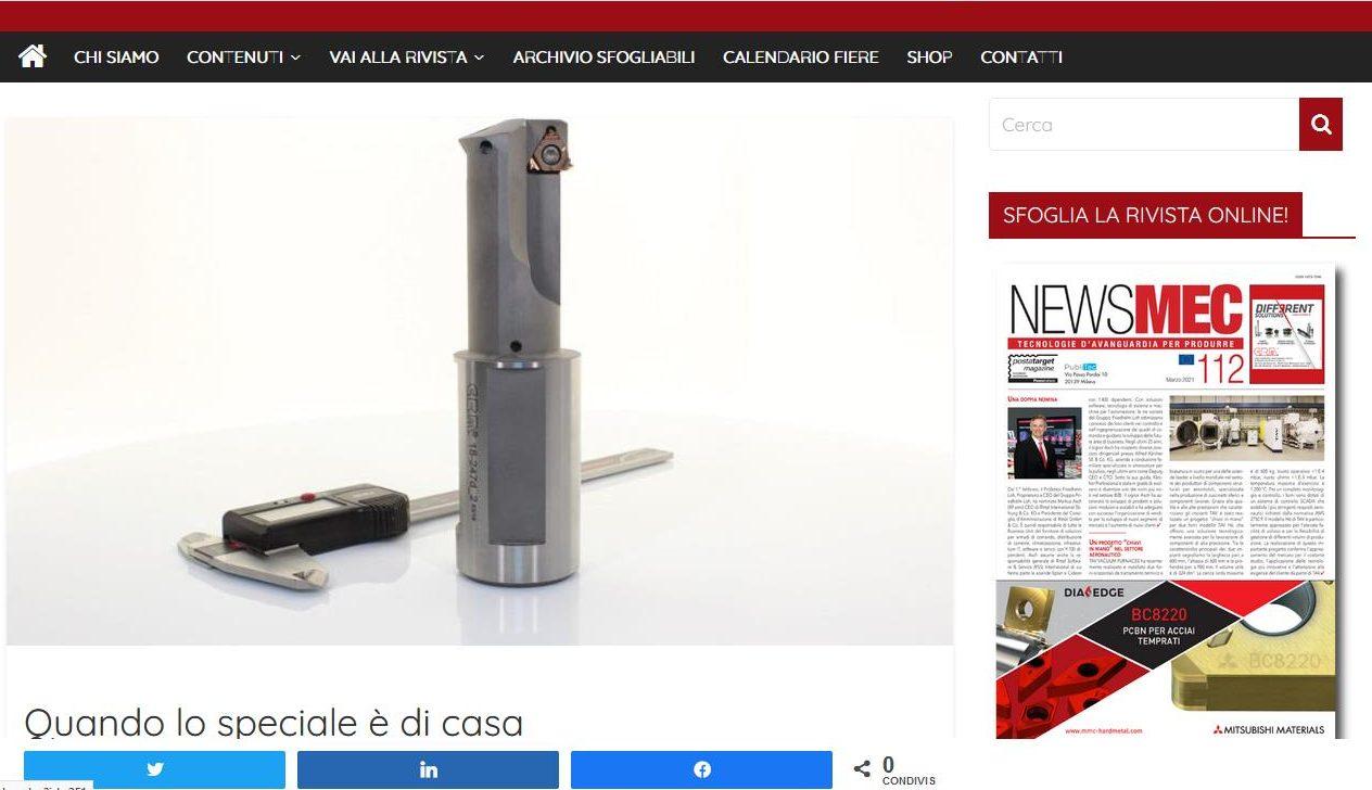 NewsMec parla di C.R.M. Mazzoccato